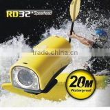 RD32 HD 720P Waterproof Mini DV Sport Camera with 8 IR LED Night Vision Lights Support TF Card / AV Output