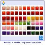 New Synthetic Turquoise Gemstone Color Chart