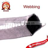 Hollow Ribbon, reflective hollow tubular polyester webbing,garment accessories, manufacturers custom