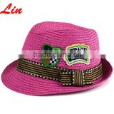 rose kid rock fedora hat