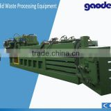 Better Packaging type baler for waste cotton yarn