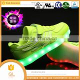 wholesale good quality led shoes sole children lighting shoes with wing