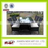 Wholesale garden treasures outdoor furniture patio wicker table set China manufacurer                                                                                         Most Popular