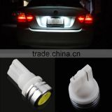 Universal 1W 2X T10 Xenon LED Side Wedge Tail Light Bulb 2825 194 168 W5W auto car led lamp corner parking light ~