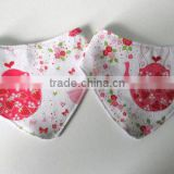 Custom Wholesale 100% Cotton baby bibs
