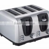 4 Slice Cool Touch Toaster Long Slot Toaster