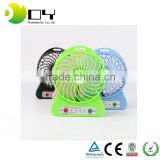 Hot Selling Gift Items Rechargeable Battery Mini Electric Hand Fan with LED Light mini cooler usb