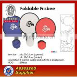 2012 Foldable nylon Frisbee/Fan with a pouch