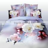 100% Combed Cotton 400TC Jacquard print and hemstitch Duvet Cover Sets, Sheet Set, Bedding Set                                                                         Quality Choice