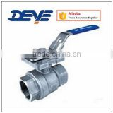 Ball Valve with Two-Piece Body With Mounting Pad ISO5211 Top Flange 1000WOG/2000WOG/SS