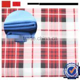 shaoxing superior quality fabric supplier ttr brushed printed fabric / export cheap tr melton fabric for winter coat