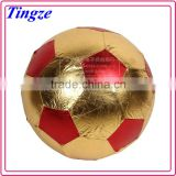 Wholesale Hot selling 25/50cm cloth soccer ball 25cm promotional fabric cloth beach soccer ball for kids