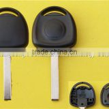 Wholesale candy bar car key blanks for Opel transponder key shell with HU100 blade NO LOGO