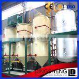 crude cooking soybean oil refining plant, rapeseed oil refinery machine