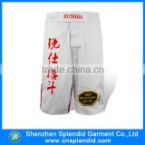 100% polyester sublimation printing MMA boxer muay thai shorts