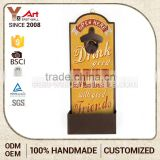 Brand New Hot Quality Customized Design Metal Beer Custom Wall Mounted Bottle Opener                                                                         Quality Choice