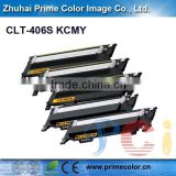 Compatible Color Toner Cartridge for Samsung CLT 406S with chip