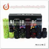 Newest Splatter SMPL Kit with Velocity Mini RDA Combo Kit airflow control peek insulator Mechanical Starter Kit House Single 186