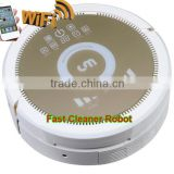 Smartphone WIFI APP Control robot cyclone vacuum cleaner QQ6KDM updated with Air purifier,3350MAH Lithium battery