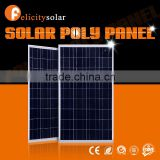 2016 Guangzhou Felicity good quality 100w poly polycrystalline solar panel modules specification