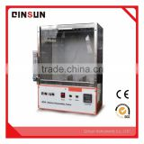 45 Degree Automatic Flammability Tester Stainless steel test cabinet with glass observation panel