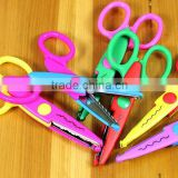 High quality Paper Edger Pinking Shears/ Zig Zag Scissors Scrapbooking Decorative Craft Pattern Edged/ Scissors Paper Trimmer