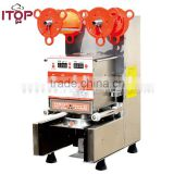High quality Automatic induction plastic heat cup sealing machine                                                                                                         Supplier's Choice