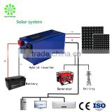5600w 7000w industrial car charging station panel system hybrid solar inverter with charger off grid