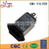 Medical grade EMI power line noise filter 220v 10A