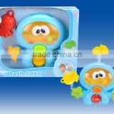 Babies product octopus bath toy with water pipes squirt bath toys bathroom baby swim with CE/ROHS certificates