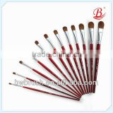 Professional mixed kolinsky hair artist painting brushes,gouache brush