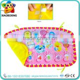 Non-toxic educational electronic animal baby musical play mat for sale