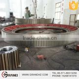 Steel girth spur gear for cement plant machinery
