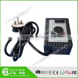 Electric AC DC Motor Fan Speed Controller with good quality and 2 years warranty periods