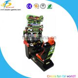 Coin operated Play car racing game online machine