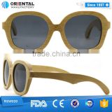 colorful we can custom design wooden sun glasses, skateboard wooden polarized sunglasses