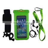 fashion mobile phone waterproof pvc bag/smartphone waterproof bag/mobile phone pvc waterproof bag