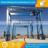 Heavy Duty Double Beams Container Gantry Crane 50-100t With Lifting Hook
