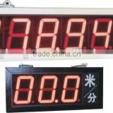 JDMS Series LED Display multifunctional as digital timer and meter and counter and speed calculating
