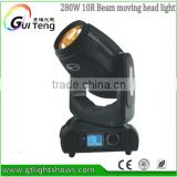 spot beam wash 3in1 3D 280W sharpy beam moving head light 10R Osram DMX512 DJ stage lighting