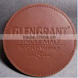 blank leather coasters