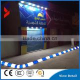 led street driveway kerb light curbstone pavement