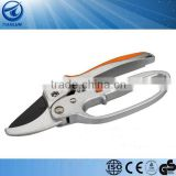 "8"" Inch Aluminum handle Easy Cut Ratchet Pruning Shears"