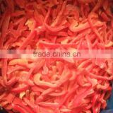 FROZEN RED BELL PEPPER STRIPS.
