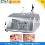 2 In 1 Hydro Oxygen Jet Peel Portable Oxygen Facial Equipment / Aqua Peel Facial Machine Improve Allergic Skin