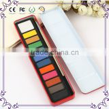 Professional 12colors artist water color paint set wholesale