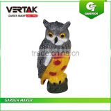 Creditable partner quick assamble PE Owl bird decoy for hunting , owl hunting decoy , owl decoy for hunting