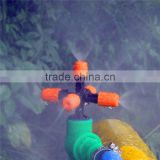 1 / 2 '' Threaded Connection Agriculture Garden Plants Full Coverage Irrigation Adjustable Cooling Mist Spray Nozzle