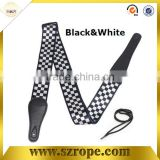 Classical Black&White guitar accessory/guitar strap