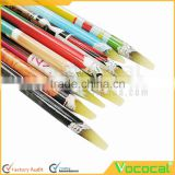 5 PCS Home Salon Self-adhesive Nail Art Rhinestones Gems Picking Dotting Crayon Pen Pencil Tool Random Color
